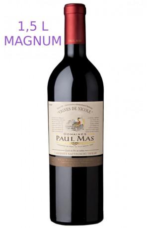 """Magnum IGP Pays d'Oc Domaine Paul Mas """"Vignes de Nicole"""" 2013"""