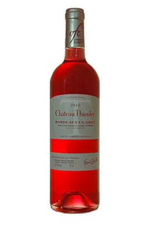 Bordeaux Clairet Château Thieuley 2017