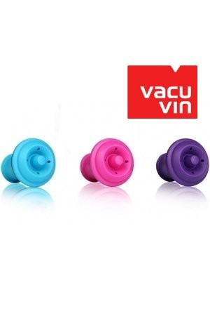 Lot de 3 bouchons couleur Vacuvin
