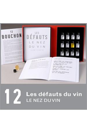 12 arômes Les vins défauts