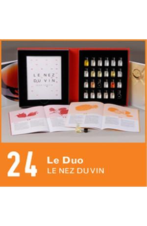 24 arômes Les Vins Blancs Les Vins Rouges