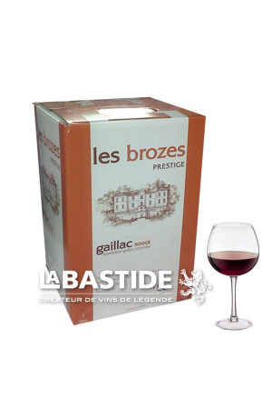 Gaillac Rouge Bib 5L Cave de Labastide