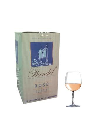 Bandol Rosé Bib 5L Vignerons de la Cadierenne