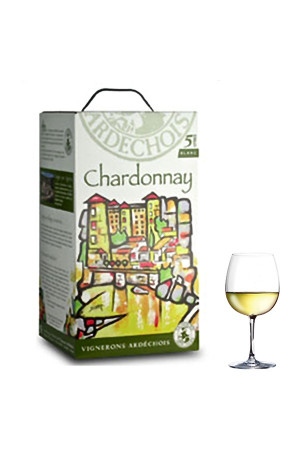Chardonnay I.G.P Bib 5L Vignerons Ardéchois