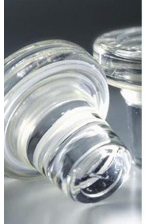 Lot de 2 bouchons verre Vino-Lok
