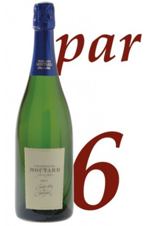 Cuvée 6 cépages Millésime 2010 Champagne Moutard Père & Fils