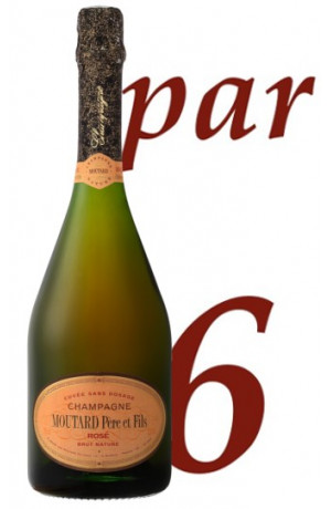 Rosé Brut Nature Champagne Moutard Père & Fils