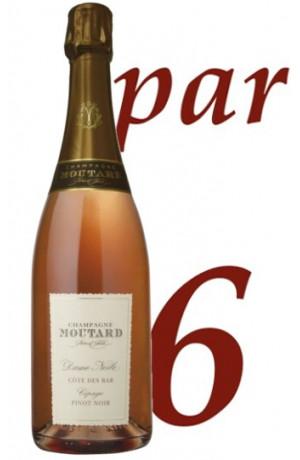Brut Rosé Dame Nesle Champagne Moutard Père & Fils