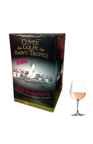 Provence rosé Bib 10L Golfe de Saint Tropez