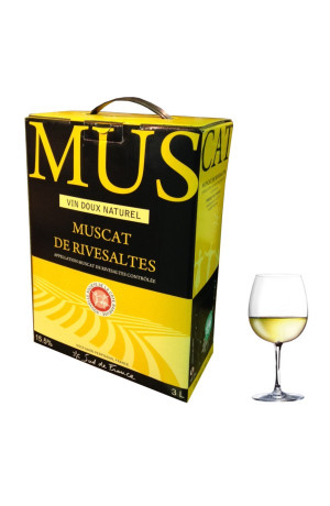 Muscat de Rivesaltes Bib 3L Vin doux naturel