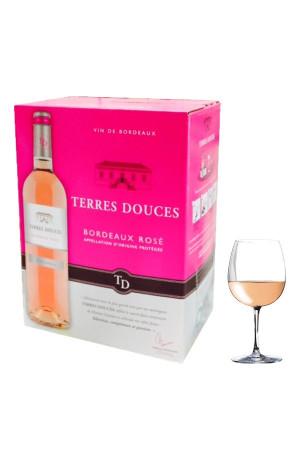 Bordeaux rosé Bib 5L Terres Douces