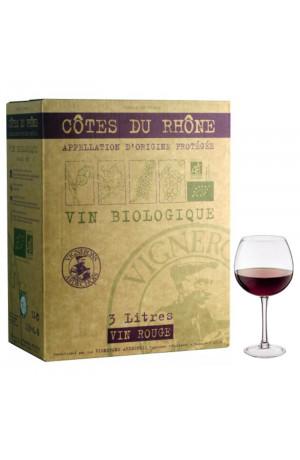 Bib 3L Côtes du Rhône Bio
