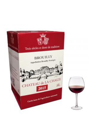 Brouilly Bib 5L Château de la Chaize