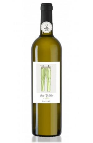 """Vin blanc """" Sans Culotte"""" ni sulfites ajoutés Gaillac"""