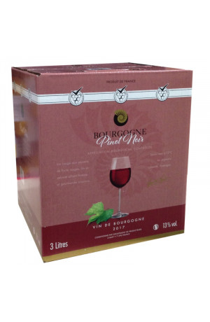 Bib Bourgogne rouge  3L Buxy