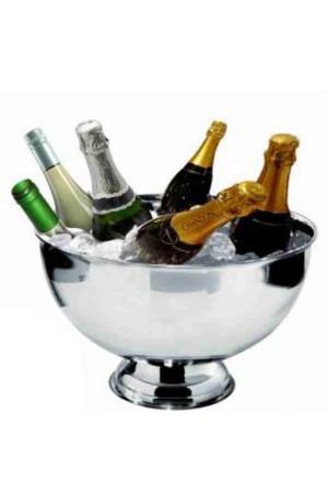 Vasque Champagne inox 6 bouteilles