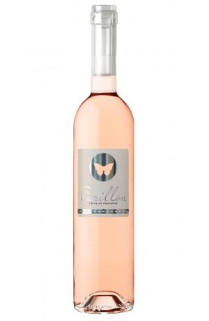 Papillon Côtes de Provence bouchon verre