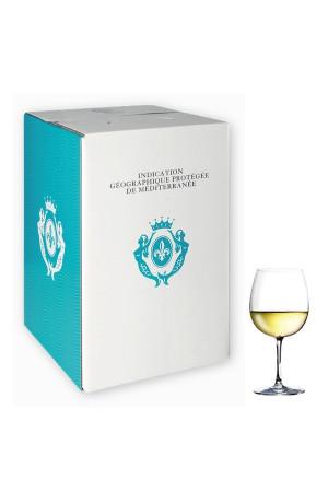 IGP Méditerranée Bib 5L Blanc Maîtres Vignerons de St Tropez