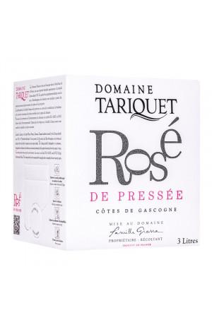 Bib 3L Domaine Tariquet Rosé de Pressée