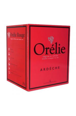 Le Cube Orélie rouge Gamay/Syrah/Merlot